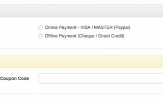 Online or Offline payment
