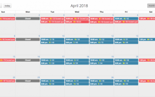 Booking Schedule Management