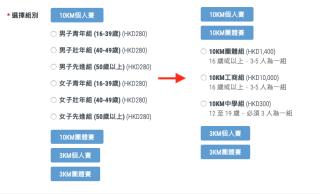 Multiple Groups<br>(Male, Female, Team & Family)